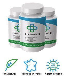 formule h traitement contre hémorroides
