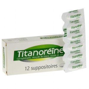 traitement contre hémorroides titanoréine suppositoires