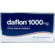 daflon traitement contre hémorroides